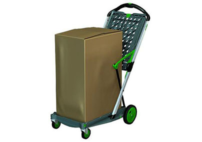 The Clax Cart Trolley tray transporting bulky items